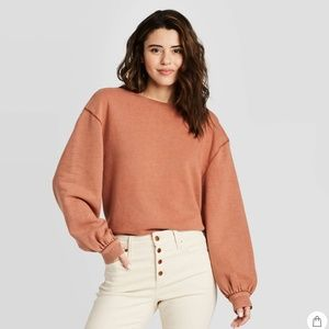Universal Thread Puff Long Sleeve Sweatshirt